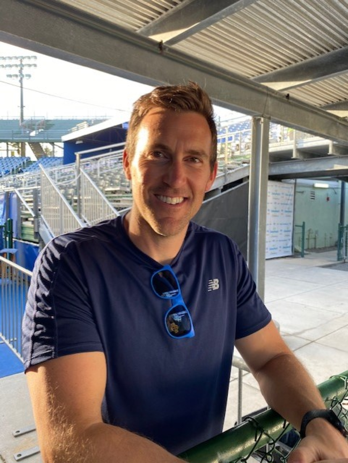 Brett Waltz, at the Delray Beach Open.