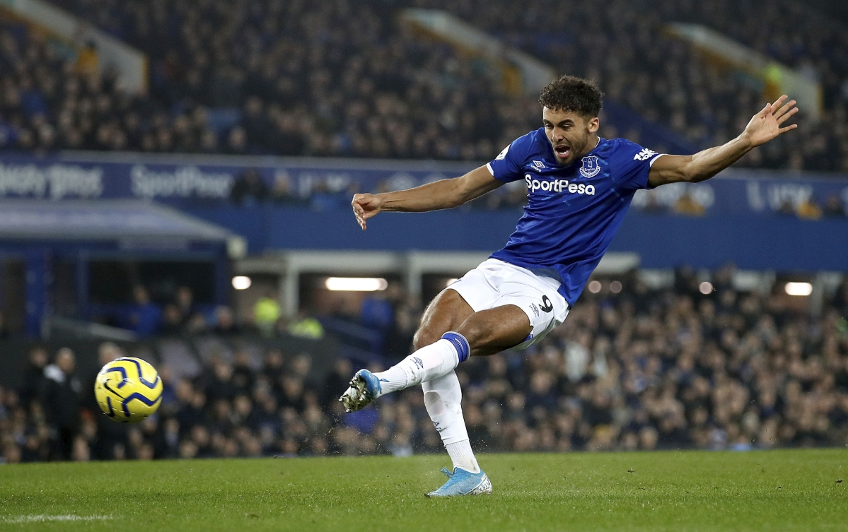 In Saturday morning Premier League soccer, improving Everton squares off against struggling Crystal Palace