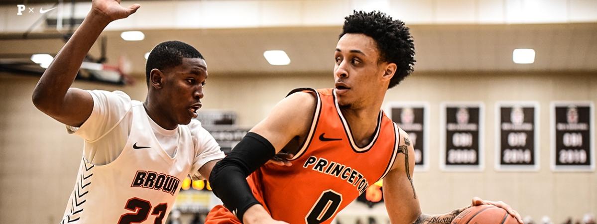 Princeton Basketball guard Jaelin Llewellyn.