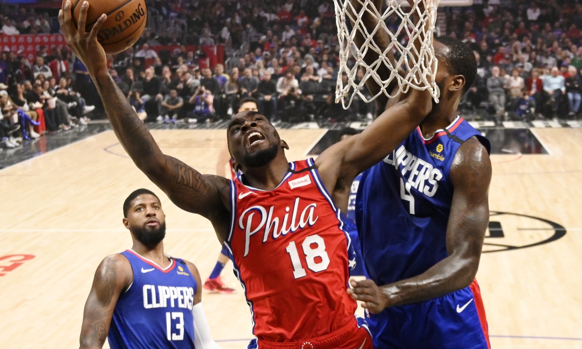 Video: Sixers' Shake Milton ties NBA record with 13 consecutive threes over three games