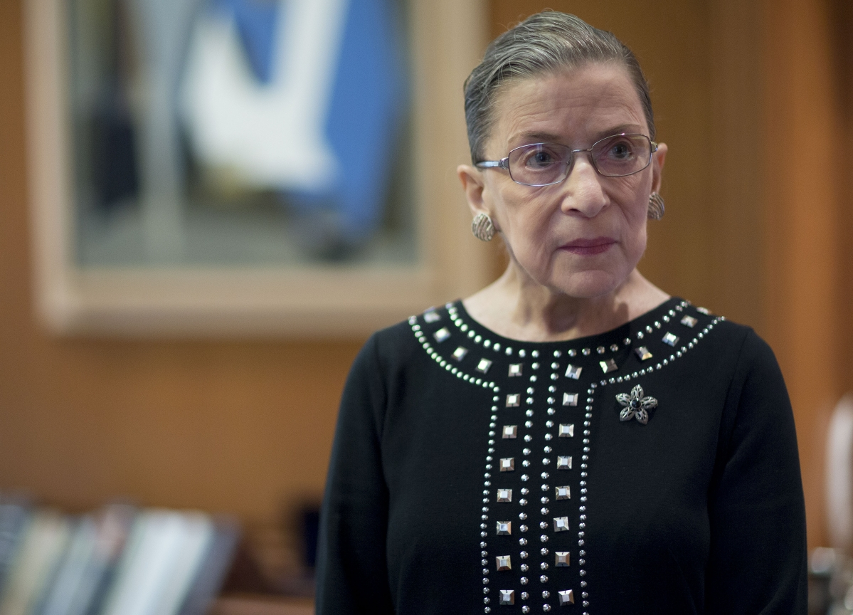 Justice Ruth Bader Ginsburg Discharged From Hospital, Court Says