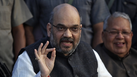 BJP chief Amit Shah (Photo: Reuters)