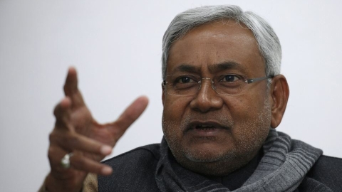 Nitish Kumar. (Photo: Reuters)
