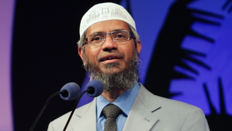 Zakir Naik  (Photo Courtesy: <i>The News Minute</i>)