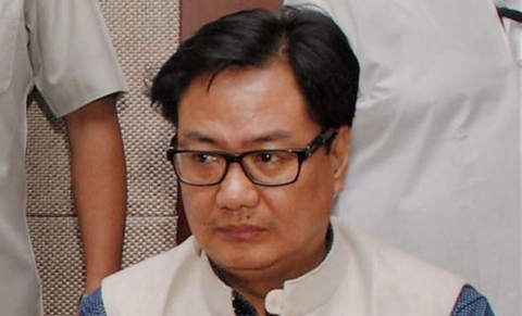 Minister of State for Home Affairs Kiren Rijiju (Photo: PTI)