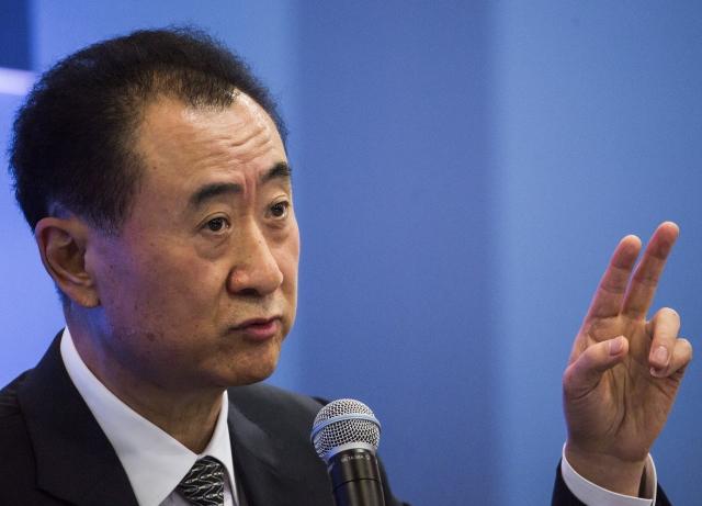 Billionaire Wang Jianlin Signals Son Won't Inherit Group Helm