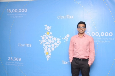 Archit Gupta, Co-Founder of ClearTax. (Source: ClearTax)