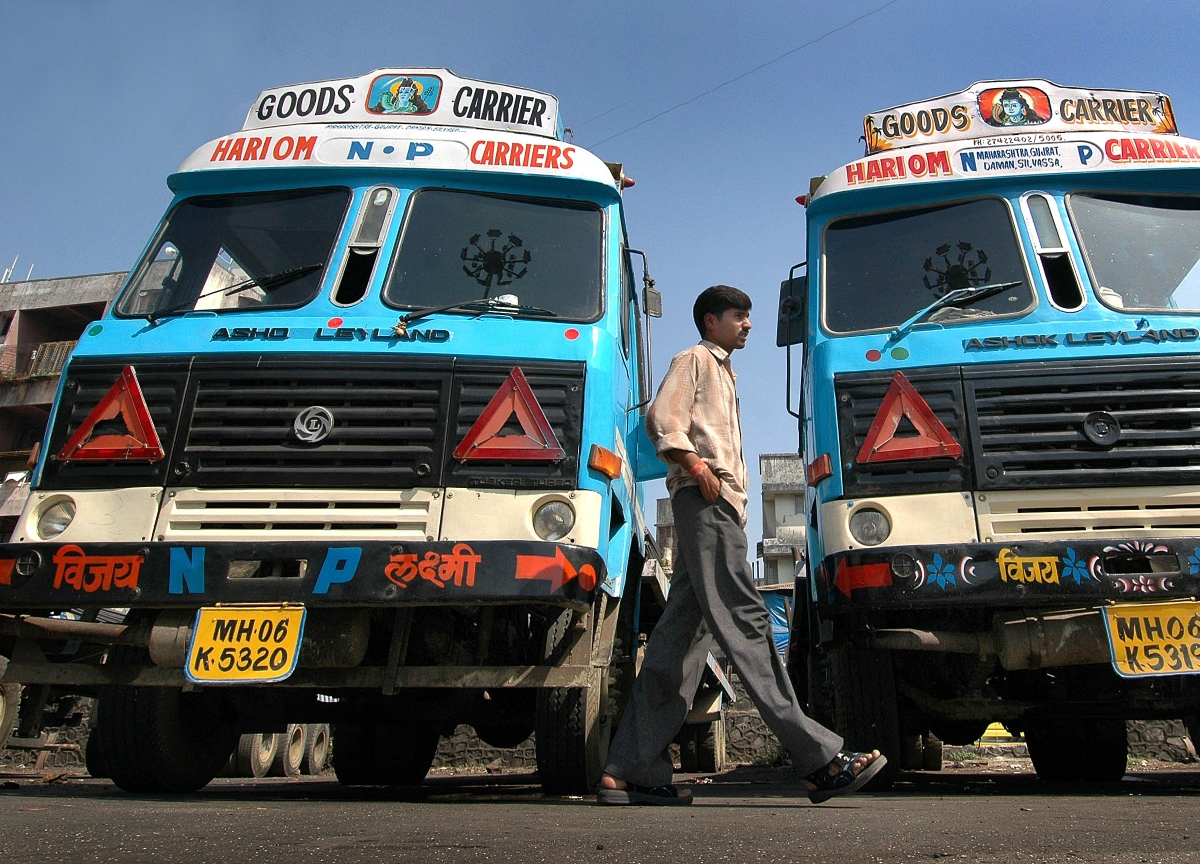 Ashok Leyland's Stock Slumps The Most In More Than Two Decades