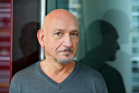 A file photo of Ben Kingsley (Source: Stephen Hilger/Bloomberg)