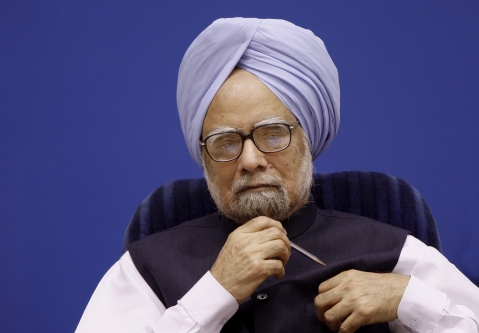 Manmohan Singh, then prime minister of India, attends a conference in New Delhi, India, on November 1, 2010. (Photographer: Pankaj Nangia/Bloomberg)