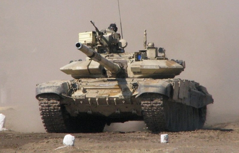 T-90 Tank used by the Indian Army. (Source: Wikimedia)