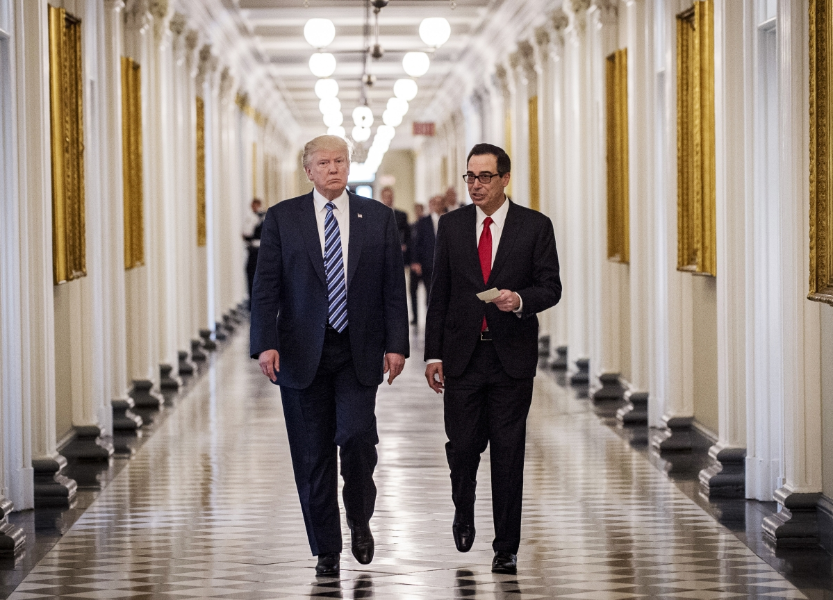 Trump May Ask Mnuchin to Meet Chinese Officials, Conway Says