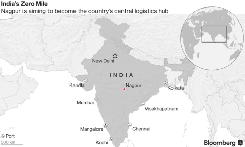 Tax Bonanza Turns City At India's Dead Center Into Nation's Warehouse