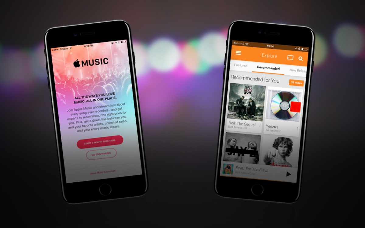 Google Play Music Vs Apple Music: Which One Is Music To Your