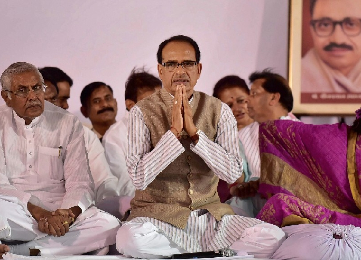 Shivraj Singh Chouhan Returns As Madhya Pradesh Chief Minister