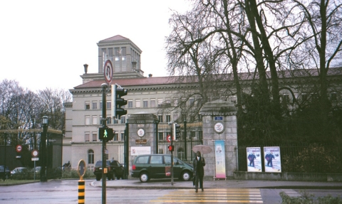 The GATT (now WTO) headquarters in Geneva, Switzerland. (Photograph: Raj Bhala)