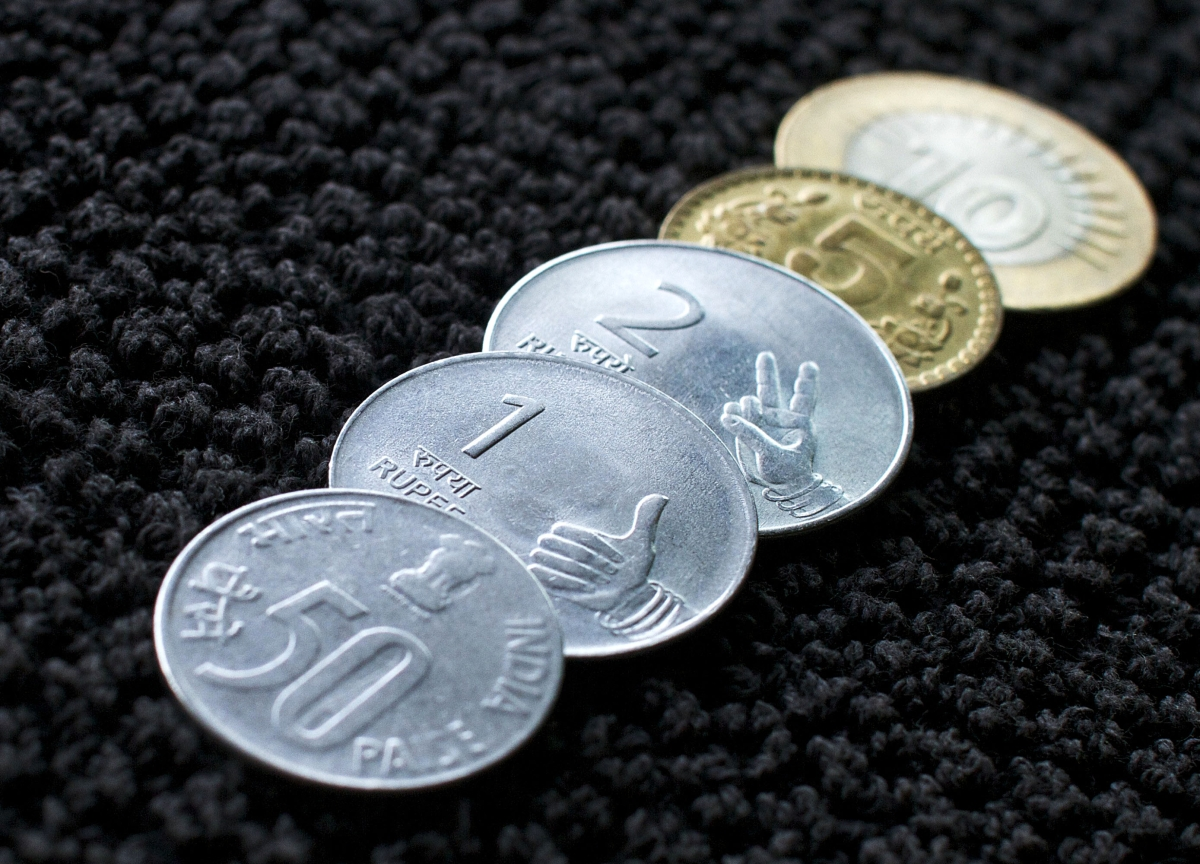 Rupee Logs First Gain In Five Sessions, Rises 20 Paise Against U.S. Dollar