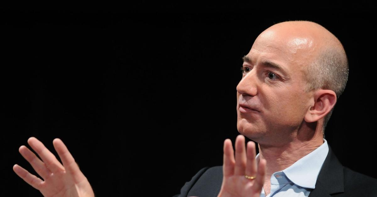 Jeff Bezos's Fortune Drops $9.1 Billion as Market Rout Whacks Wealthy