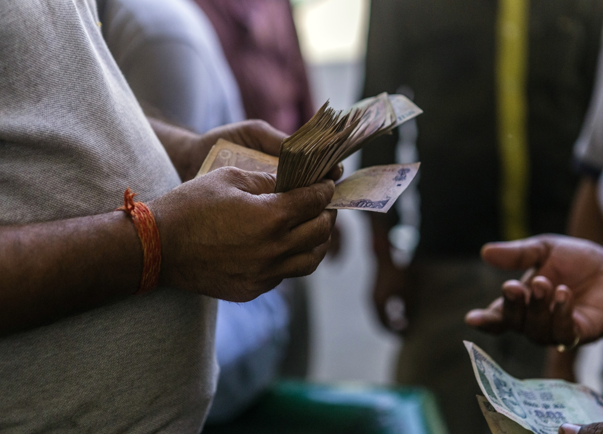Rupee, India Stocks Tumble After RBI Takes Control of Yes Bank