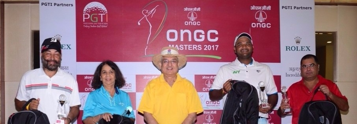 Udayan Mane And Team Clinch ONGC Masters 2017 Pro-Am