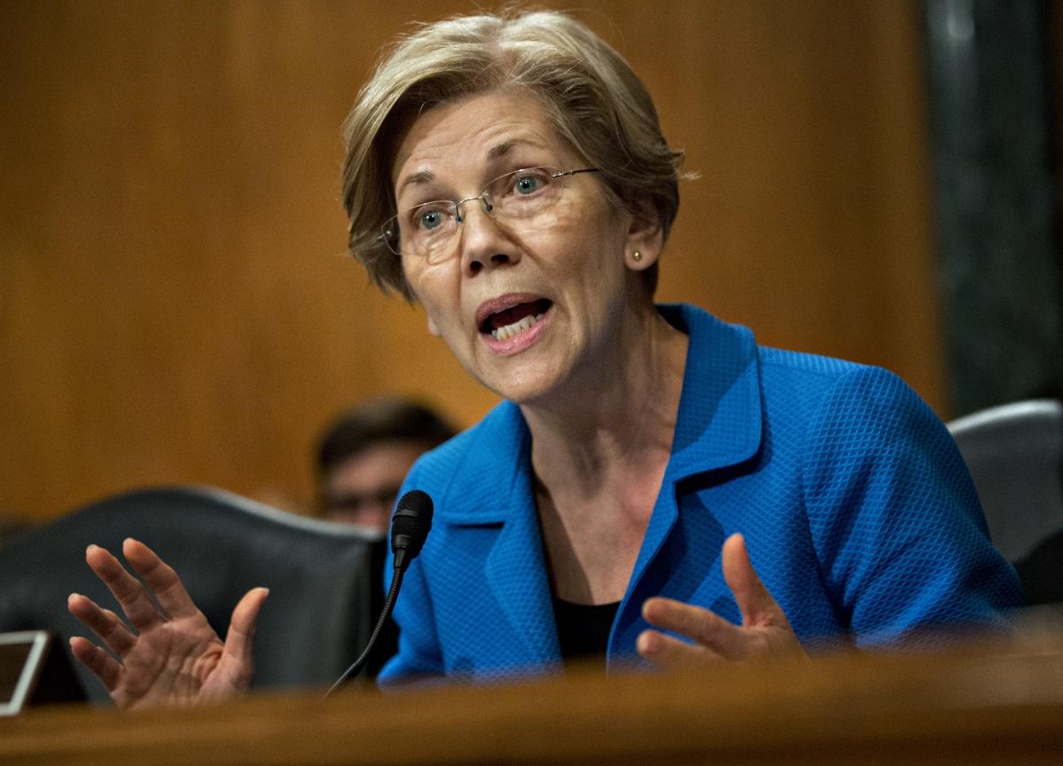 Elizabeth Warren Starts Winning Begrudging Respect on Wall Street