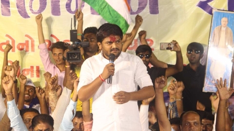 Patidar agitation leader Hardik Patel. (Source: PTI)