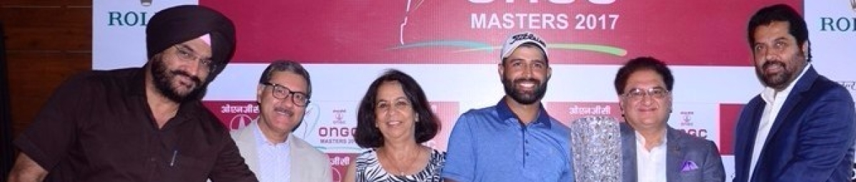Amardip Reigns Supreme at ONGC Masters 2017