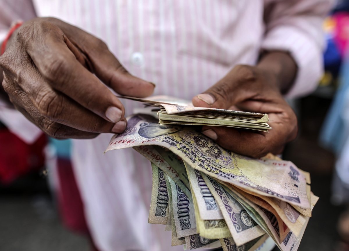 Government's Total Receipts At Rs 12.82 Lakh Crore In April-January