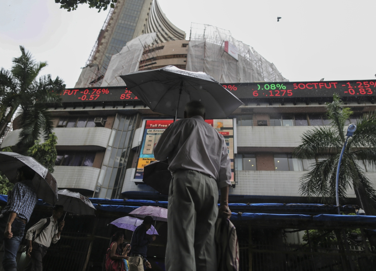 Stocks That Are Defying The Rout In Indian Markets