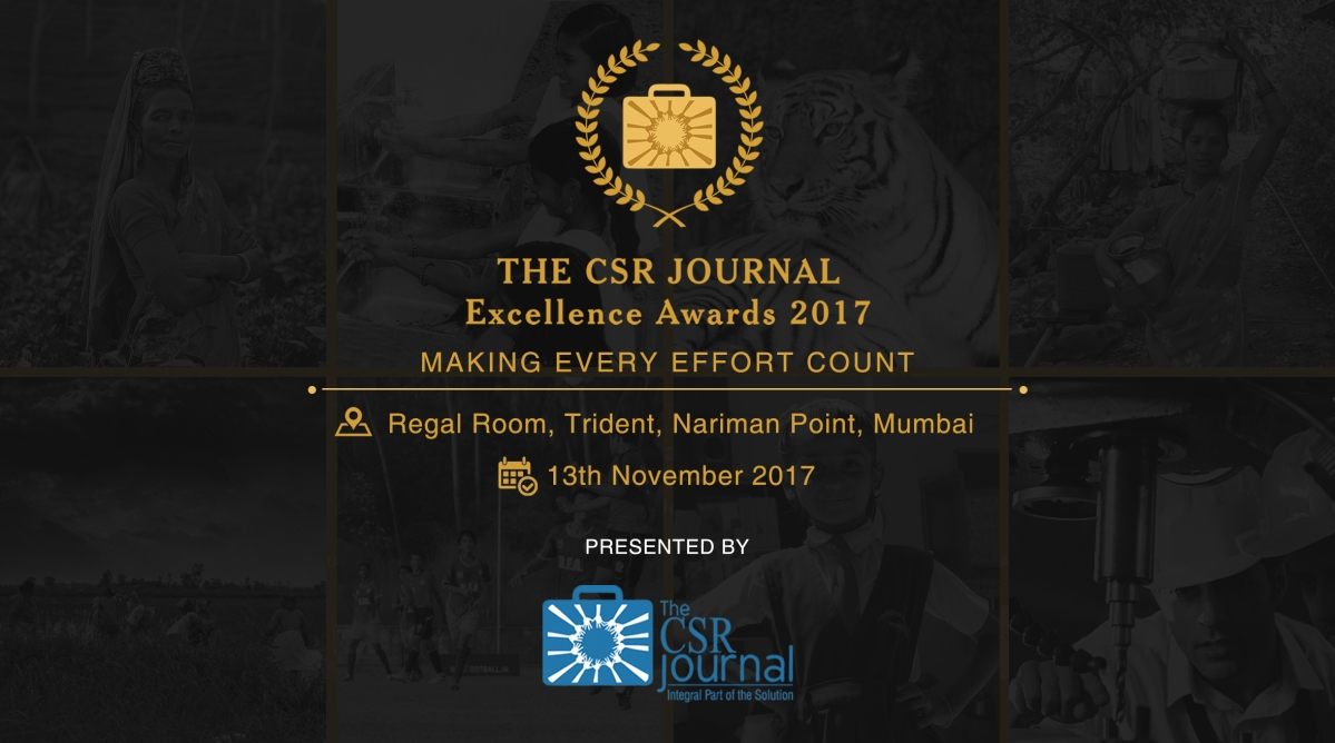 The CSR Journal Presented 'The CSR Journal Excellence Awards 2017'