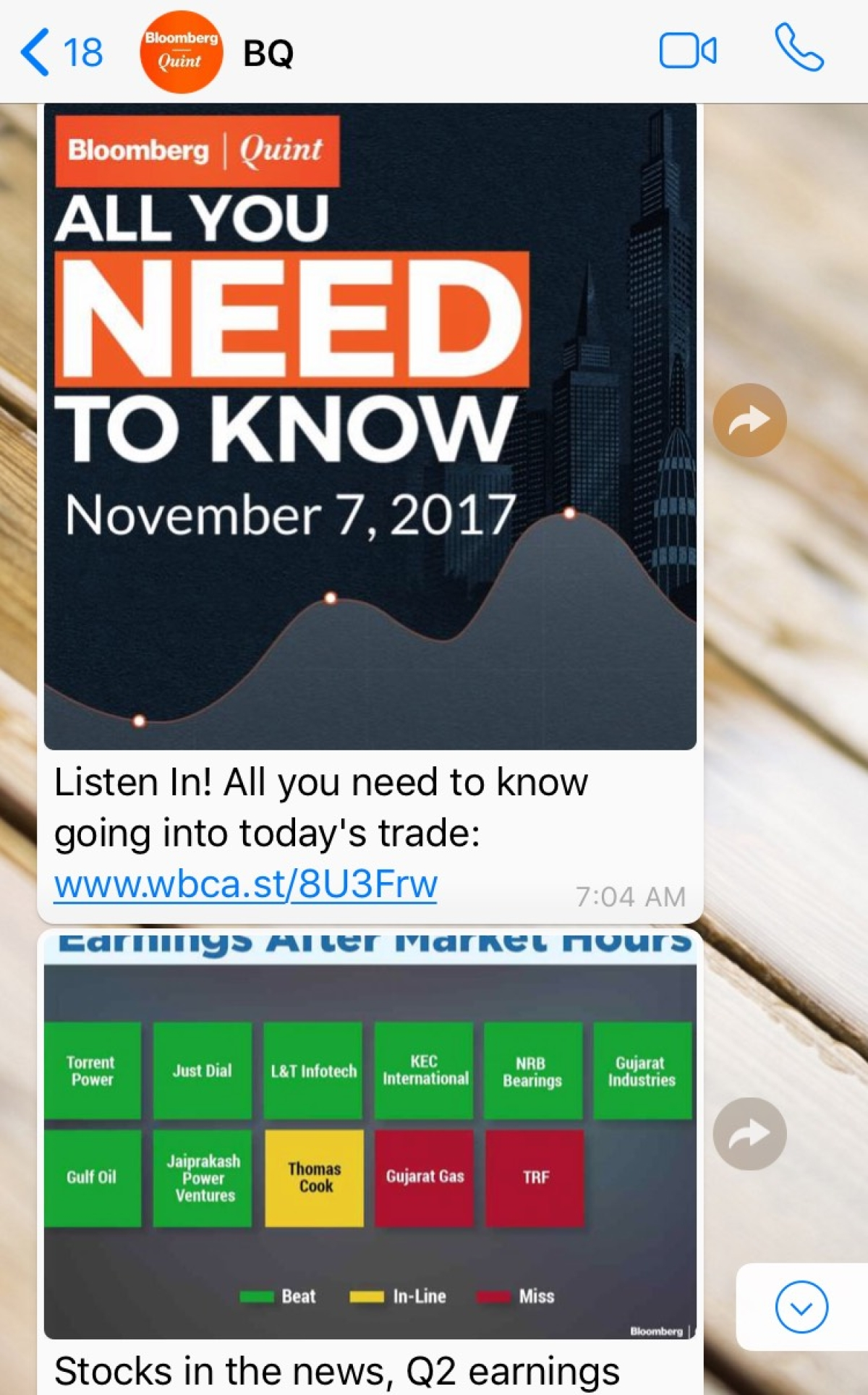 BloombergQuint on WhatsApp: Stay Updated with the Latest News on