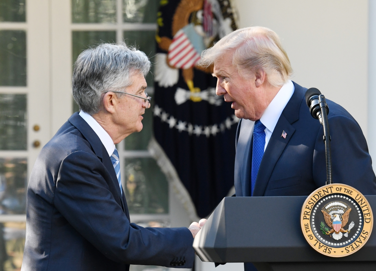 Trump Says He 'Maybe'Regrets Putting Powell Atop the Fed