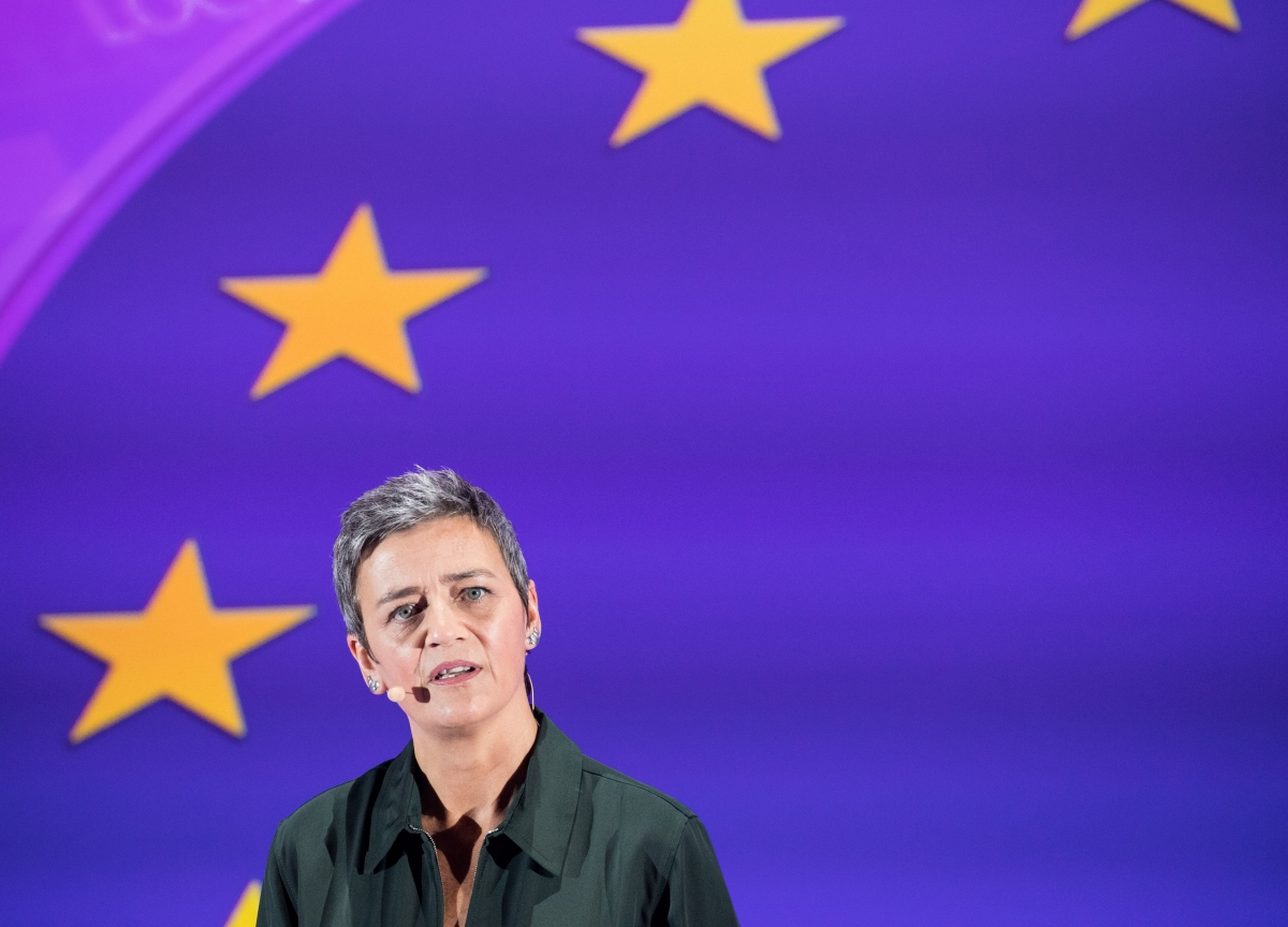 Google-Fitbit Probe Isn't for Data Watchdogs, Vestager Says