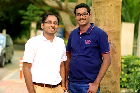 (L-R) Satish Kannan and Enbasekar Dinadayalane, co-founders of DocsApp (Source: DocsApp)