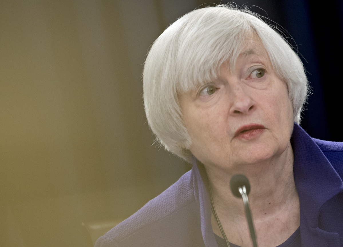 Janet Yellen Says She's Concerned About Trump Undermining Trust In Fed