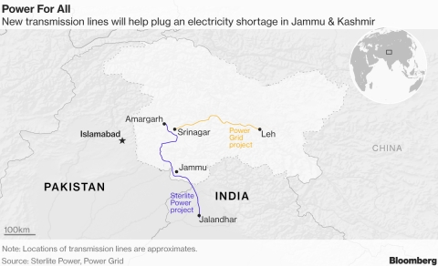 How Power Lines Could Help Lead To Peace In  Kashmir