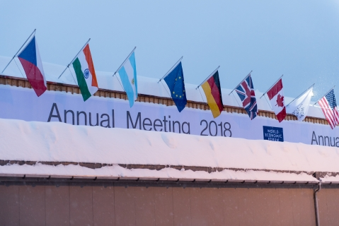 Impressions from the Annual Meeting 2018 of the World Economic Forum in Davos, January 21, 2018. (Photograph: World Economic Forum / Sandra Blaser)