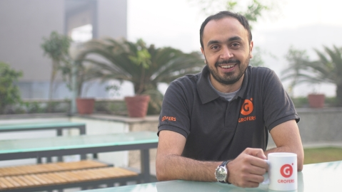 Albinder Dhindsa, Co Founder and CEO of Grofers