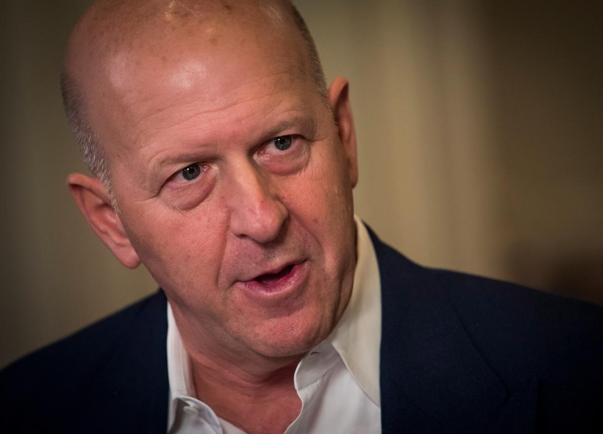 Goldman CEO David Solomon Cranks Out EDM Beats at Amazon's Cloud Event