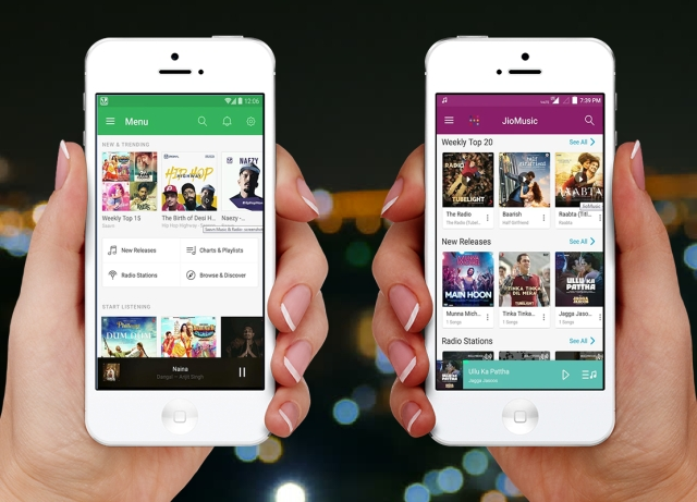 jio saavn music app download