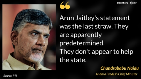 TDP To Pull Out Of NDA Government, Keeps Door For Alliance With BJP Ajar
