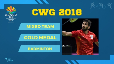 CWG 2018 | Day 5: Indian Mixed Badminton Team Win First CWG Gold