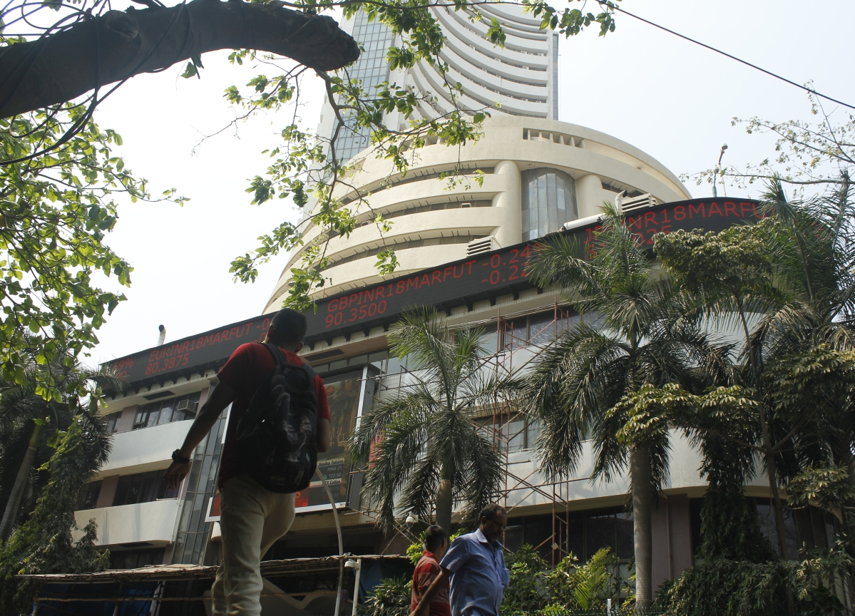 Sensex Closes Over 200 Points Lower, As TCS, Infosys Help Pare Early Losses