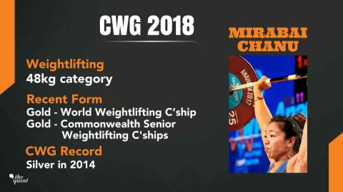 CWG 2018 | Day 1: Chanu Wins India's First Gold, Ghosal Bows Out