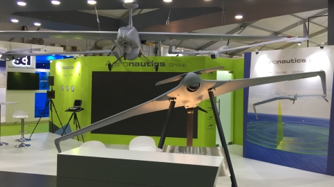 Medium range Drones by Aeronautics, Israel. Mahindra Defence has partnered with Aeronautics to make these in India. (Source: BloombergQuint)