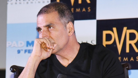 Akshay Kumar is bating for menstrual hygiene.