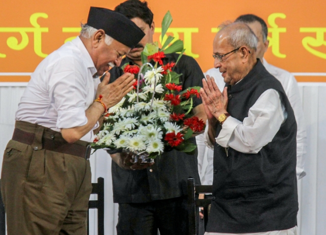 Full Text Of Pranab Mukherjees Speech To Rss Workers In Nagpur