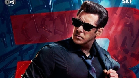 Salman Khan in <i>Race 3</i>.