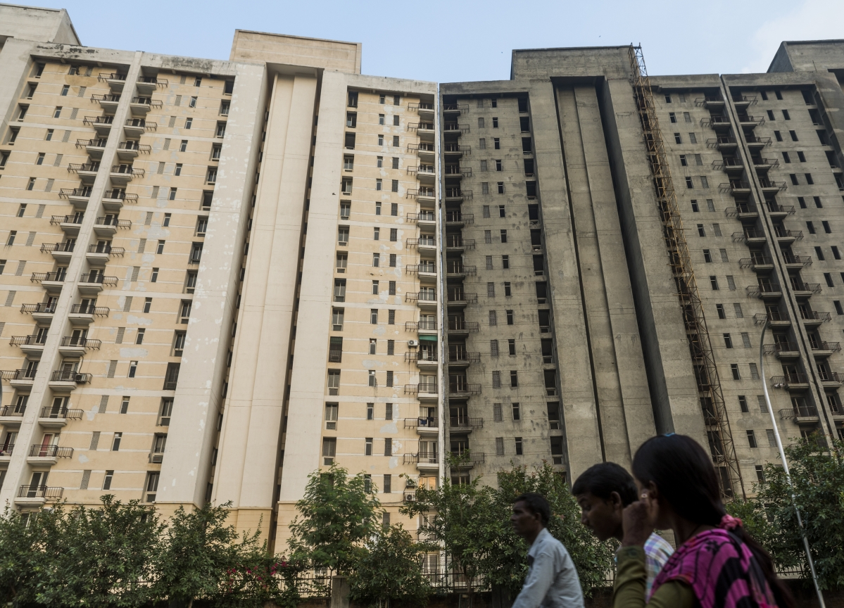 Housing Downturn Puts $20 Billion Indian Bank Loans at Risk