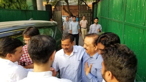 (Photo Courtesy: Twitter.com/@aamaadmiparty)